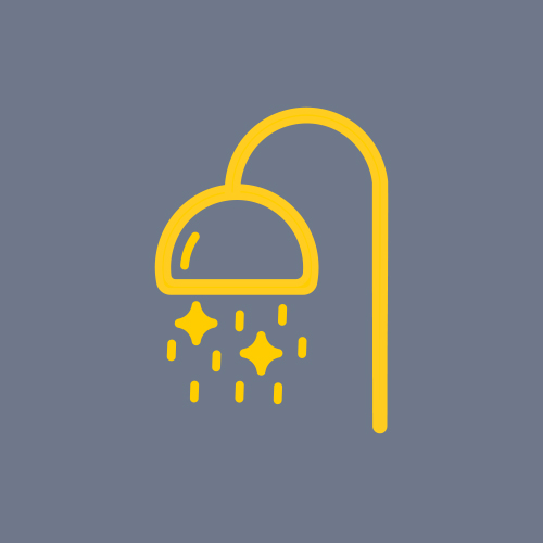 Icon to show New Shower Facilities