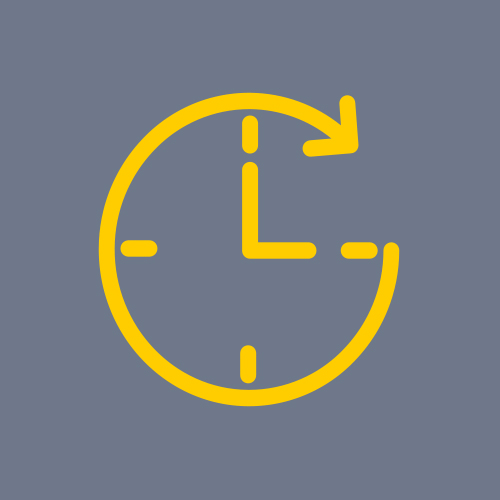 Icon to show 24 Hour access and on site security team
