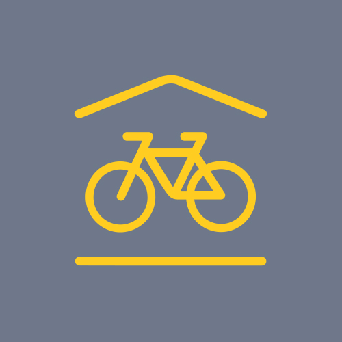 Icon to show Bicycle storage