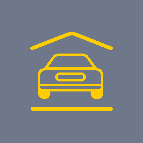 Icon to show On site car parking